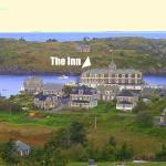 The Inn from the top of Monhegan Island