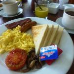 English breakfast - 1 of several options
