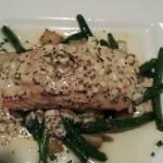 The Salmon with potato and green beans was fantastic!