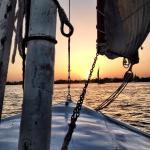 Falucca sunset ride.