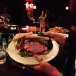 Largest turkey club sandwich ever. Mmmm good