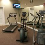 Fitness room - one other piece of equipment on the other side
