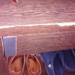 Broken night tables in bedrooms
