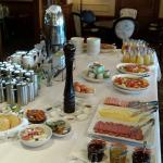 Free continental breakfast buffet included in accommodation