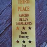 Team R&R winning bronze.