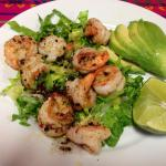To die for- Camarones salad