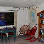 Das Wohnzimmer vom River House