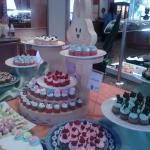gala de mini cup cakes