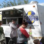 Food truck at St Philip's Plaza in Tucson