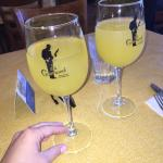 Bottomless mimosas - delicious