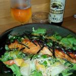 Saumon grillé etalgue Nori