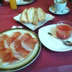 Mi desayuno libre de #leche #trigo #huevo