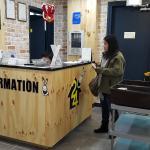 information/reception