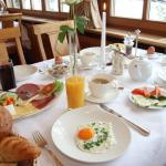 Frühstücksstisch