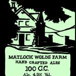 We exclusively sell Matlock Wolds Farm beers