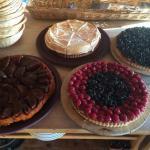 Tarte maison merci au pâtissier pour ce délice