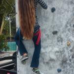 Climbing rocks! :)