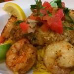 Tortilla Encrusted Sea Bass Dinner Special