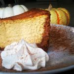 Fresh Pumpkin Cheesecake