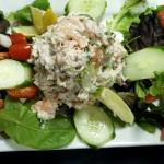 Shrimp and Crabmeat Salad Lunch Special
