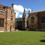 Pembroke College - lawn