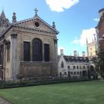 Pembroke College - Christopher Wren's Chapel facade