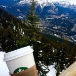 Canada's highest Starbucks