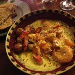 The curried prawn dish was wonderfully made although a little pricy.