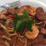 Prawn and Chorizo Linguini