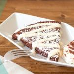 Our signature Chocolate Tenerina cake & Mascarpone mousse from Vincenzo's hometown Ferrara