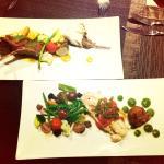 Main lamb& fish