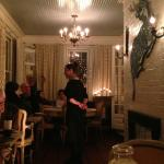 Foto de The Chestnut Grille at The Bee and Thistle Inn