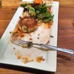 Special crab cake ... Came with 2 ... Very good.