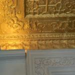 Detalhe da decoração do teto do HVN