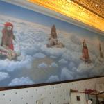 Quadro do guru nas nuvens