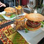 Double burger Catalan