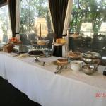 Part of breakfast spread