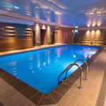 Indoor Pool, sauna and steam room