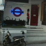 London underground / banksy design