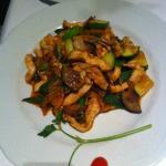 Hühnerfleisch mit Gemüse