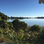 View across Waimea Inlet towards Mapua