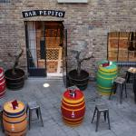 Bar Pepito courtyard