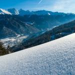 Neuegg Winterlandschaft - Panorama Inntal