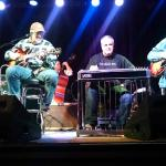 Kenny Sears on Fiddle, Vince Gill on guitar and vocals, Paul Franklin on steel and Andy Reiss gu