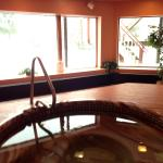 Hot tub always open from 10am