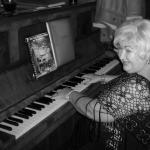 Betty on the Piano