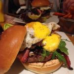 Brunch burger in all its glory