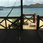 Our deck off our cabana
