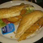 Fried Catfish Po-Boy!