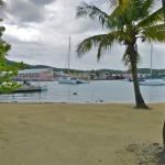 'Hotel On The Cay' Beach overlooking Christiansted Harbor and Town